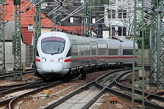 ICE T High-speed German tilting train