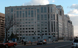 U.S. Immigration and Customs Enforcement - ICE headquarters building in Washington, D.C.