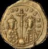 INC-1529-r Номисма тетартерон Роман IV Диоген (реверс)