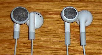 IPod - Image: I Pod Earbuds