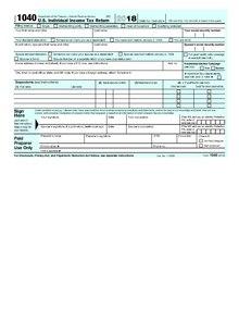form 1040 us individual income tax return 2017  Form 17 - Wikipedia