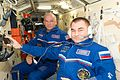 ISS-48 Jeffrey Williams and Alexey Ovchinin in the Rassvet module.jpg