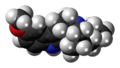 Ibogaine molecule spacefill.png