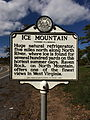 Ice Mountain Historical Marker Augusta WV 2014 10 05 02.jpg