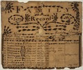 Illustrated family record (Fraktur) found in Revolutionary War Pension and Bounty-Land-Warrant Application File... - NARA - 300036.tif