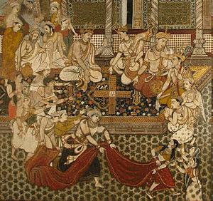 Illustration from Persian Mahabharata