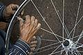 India - Varanasi bike wheel - 0503.jpg