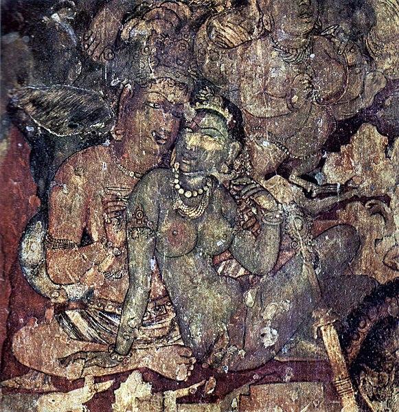 Ajanta Caves Wall Paintings
