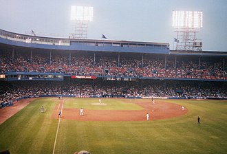 Tiger Stadium (Detroit) - Tiger Stadium in 1998