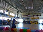 Inside the City of Bacoor Sports Gymnasium at Bacoor Government Center in Bacoor, Cavite, Philippines.JPG