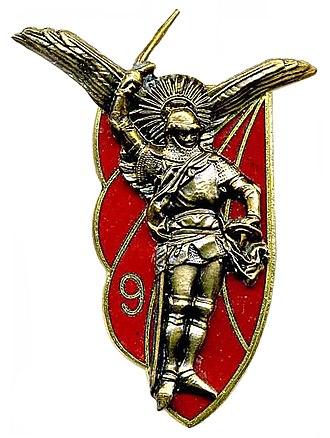 9th Parachute Chasseur Regiment - Image: Insigne du 9° RCP