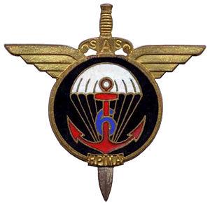 6th Marine Infantry Parachute Regiment - Image: Insigne régimentaire du 6e RPI Ma