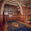 Interieur, bel-etage, voorzijde rechts (Vestibule van de Koninklijke Wachtkamer), interieur, Kamer met 19de eeuwse muurschilderingen en betimmering - Amsterdam - 20392800 - RCE.jpg