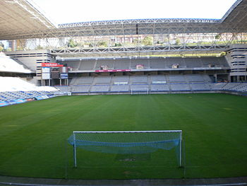 Interior del estadio Carlos Tartiere