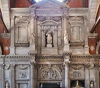 Alvise I Mocenigo - Tomb of Alvise Mocenigo