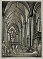 Interior of a Gothic church Wellcome V0049937.jpg