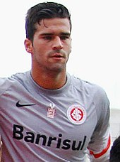 8455ab35186 Alisson with Internacional in 2015.