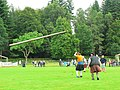 Inveraray Highland Games - Tossing the Caber (2) - geograph.org.uk - 981277.jpg