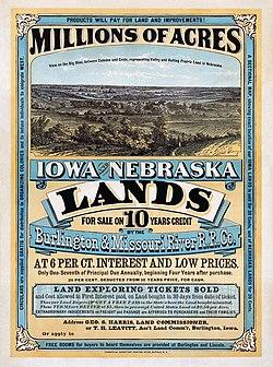 Iowa and Nebraska lands10
