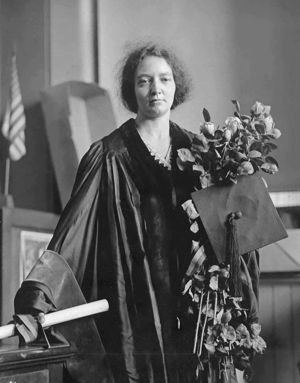 Irène Joliot-Curie (1897-1956), 1921crop