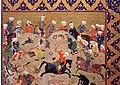 Iran, shiraz, scena di caccia, 1550 ca. 02.jpg