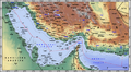 Iranian borders in Omans and Persian Gulf (Cro).PNG