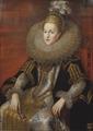 Isabella Klara Eugenia, 1566-1633, prinsessa av Spanien ärkehertiginna av Österrike - Nationalmuseum - 15472.tif