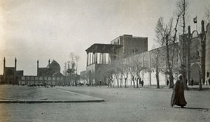 English: Isfahan (Iran): Naqsh-i Jahan Square ...