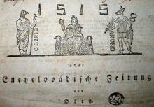 Titelblatt der Isis aus dem Jahr 1819 (Ausschnitt) (Quelle: Wikimedia)