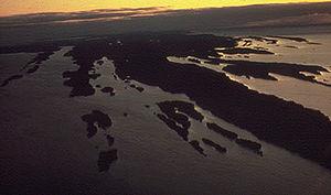 Isle Royale National Park - Image: Isle Royale aerial