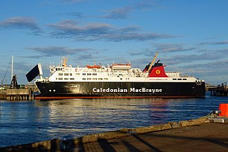 MV Isle of Lewis - Image: Isle of Lewis At Stornoway, 16 May 2013
