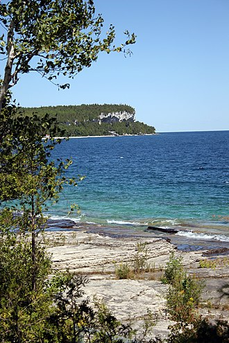 Bruce Peninsula - Smokey head White Bluffs near Lion's Head, Ontario.