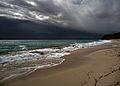 It does happen, rainclouds over Barbados (6823546215).jpg
