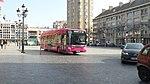 Iveco Urbanway 12 GNV n°464 en service spécial à l'Hôtel de Ville le 14 avril 2018.jpg