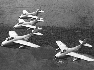 Operation Grandslam - UN J-29 fighter jets in the Congo