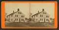 J. Lang Couch's residence. Benj. H. Couch, standing near the wagon, by Couch, C. M., fl. 1860-1889.png