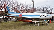 JASDF F-86F(82-7777) right side view at Kasuga Air Base November 25, 2017.jpg