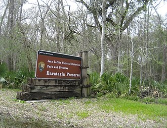 National Register of Historic Places listings in Jefferson Parish, Louisiana - Image: JL Barataria Preserve