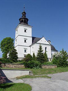 Szczaworyż Village in Świętokrzyskie Voivodeship, Poland