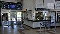JR Muroran-Main-Line Nobiribetsu Station Gates.jpg