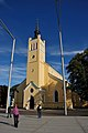 Jaani kirik Vabaduse platsil jalutaja pilgu läbi.jpg