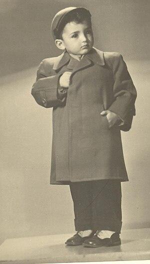 Jacob Rubinovitz - Jacob Rubinovitz as a child.