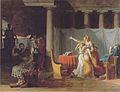 Jacques-Louis David - Die Liktoren bringen Brutus die Leichen seiner Söhne.jpeg
