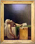 Jacques-louis david, la morte di marat, 1793, 01.jpg