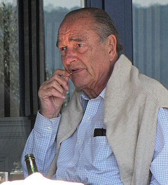 Jacques Chirac - Jacques Chirac at Saint-Tropez in 2010