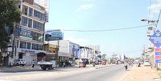 Ja-Ela Suburb in Gampaha District, Western Province, Sri Lanka