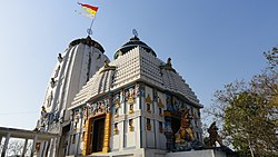 Jagannath temple in Phulbani, the headquarters of Kandhamal