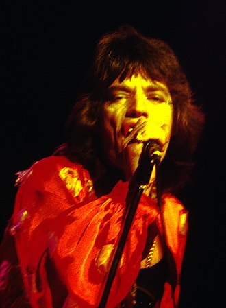 The Rolling Stones American Tour 1972 - Mick Jagger at Winterland Ballroom, June 1972