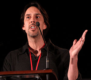 Eureka (U.S. TV series) - Jaime Paglia, co-creator of Eureka, at the 2011 Phoenix Comicon.