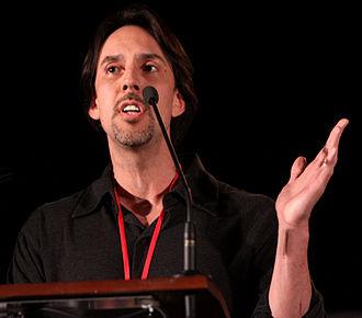 Eureka (U.S. TV series) - Jaime Paglia, co-creator of Eureka, at the 2011 Phoenix Comicon.